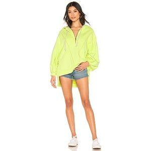 Free People | High Road Yellow Hooded Pullover | M